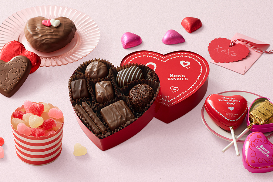 Valentine's Day at See's Candies