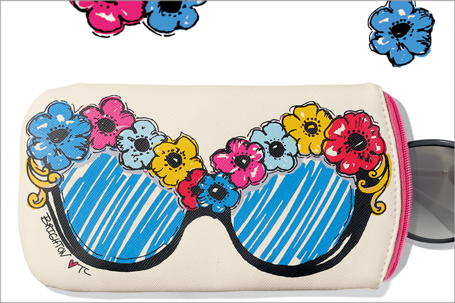 Sunglass Pouch Gift with Purchase at Brighton Collectibles