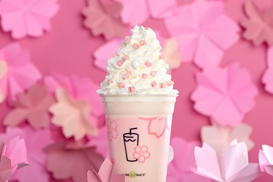 Cherry Blossom Shake at Shake Shack