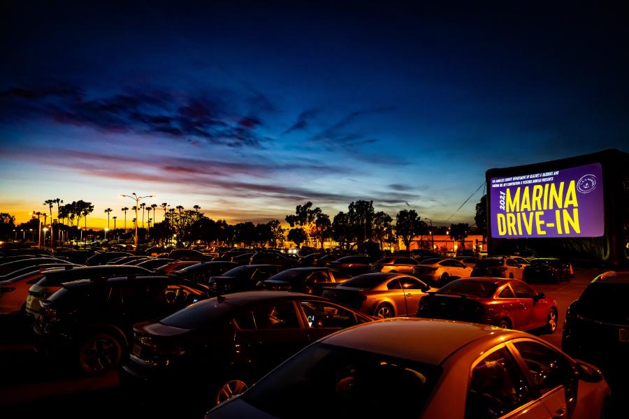 Marina Drive-In Movie Nights