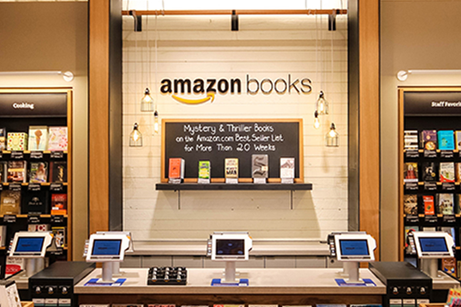 Discover the Kindle Paperwhite at Amazon Books